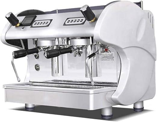 LIBOYUJU Cafetera Cafetera Italiana semiautomática de Doble ...