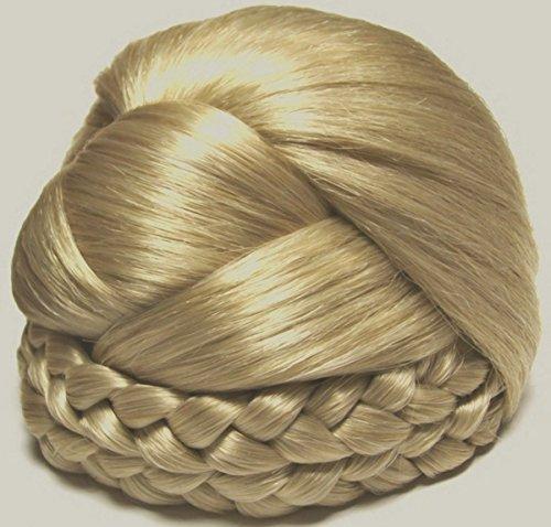 BLISS Dome Wiglet Chignon Bun Hairpiece - 22 Light Ash Blonde