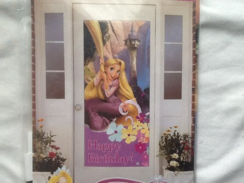 princess birthday wall poster