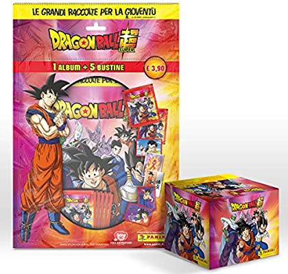 DRAGON BALL SUPER 2 sticker Collection Mega Starter Pack Album + 5 ...