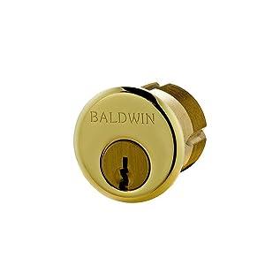 """Baldwin 8323.003 Single Cylinder C Keyway,1.25"""""""