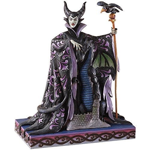 Enesco Disney Traditions by Jim Shore Maleficent with Dragon - Figurine Maleficent