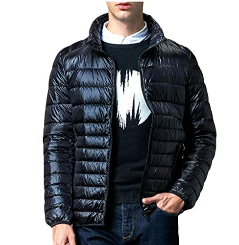 Packable security Lightweight Black Coats Puffer Mens Outwear Jackets Down Ultra qqZavwY