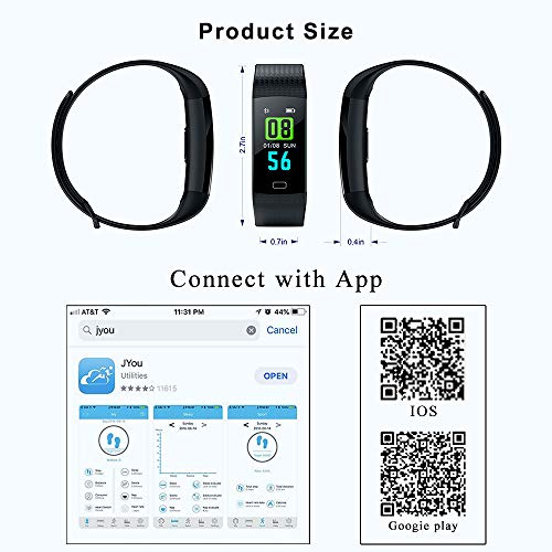 Rate Sleep Monitor Calorie Pedometer for Kids Men