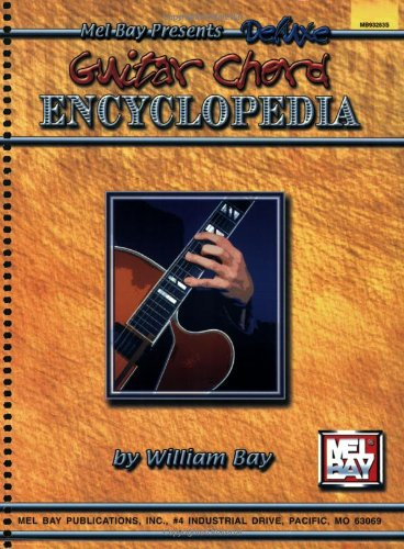 Deluxe Encyclopedia of Guitar Chords (Spiral)