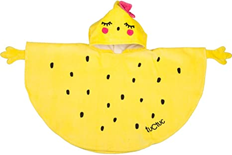 Tuc Tuc Crazy Lemons - Poncho para niña