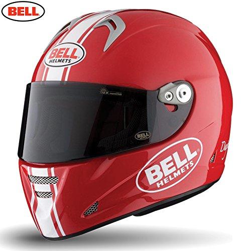 Bell Helmets 7050664 Street 2015 M5X Adult Helmet, Daytona Red/White, XL