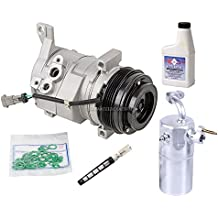 AC Compressor w/A/C Repair Kit For Chevy Silverado Tahoe GMC Sierra & Escalade - BuyAutoParts 60-80170RK New