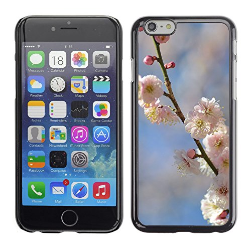 Premio Sottile Slim Cassa Custodia Case Cover Shell // F00007391 fleurs de prunier // Apple iPhone 6 6S 6G 4.7""