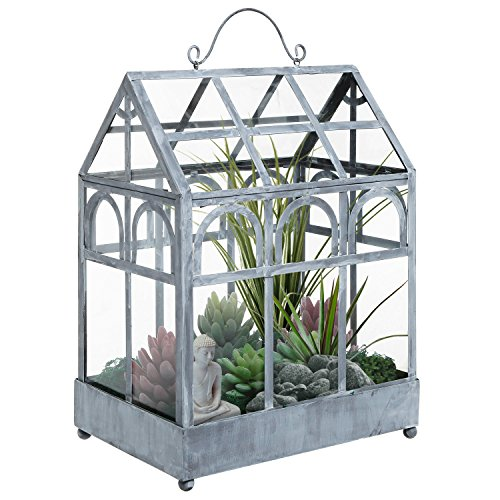 Freestanding Wardian Greenhouse Planter Terrarium
