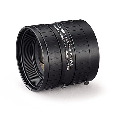 Fujinon CF35HA-1 1'' 35mm F1.4 Manual Iris C-Mount Lens, 1.5 Megapixel Rated
