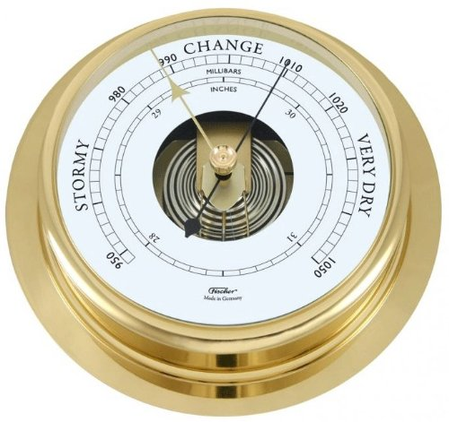 Ambient Weather 1606B-45 Fisher Solid Brass Nautical Open Fa