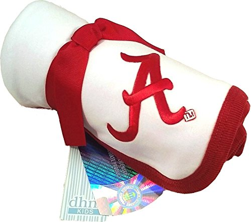 Future Tailgater Alabama Crimson Tide Baby Receiving Blanket