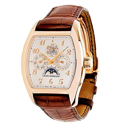 Girard Perragaux Richeville Automatic-self-Wind Male Watch 27220.52.2741 (Certified Pre-Owned)