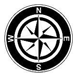 ComplianceSigns Vinyl Self-Adhesive Floor Label, 12 x 12 in. with Directional Info Symbol