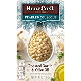 Near East Oil Pearled Couscous, Roasted Garlic & Olive, 4.7 oz