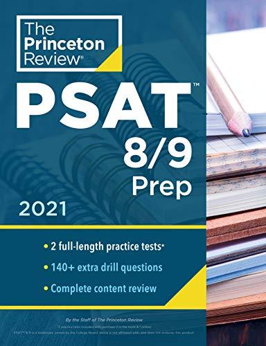 Princeton Review PSAT 8/9 Prep: 2 Practice Tests