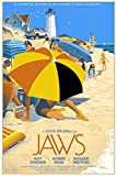 Old Tin Sign Jaws s Classic Vintage Movie Poster MADE IN THE USA