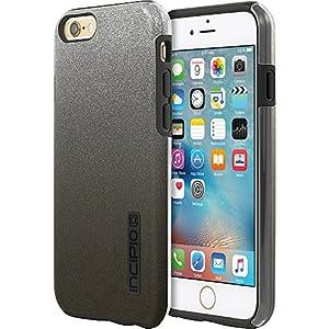 best service 25059 71f89 Amazon.com: Incipio DualPro Glitter for iPhone 6/6s Plus (Black ...