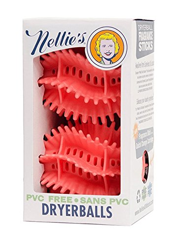 Nellie's All-Natural Quick Change Dryerballs - 2 ct (Nellies All Natural Dryer Balls)