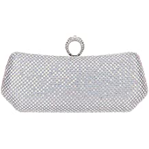 Fawziya Polygon Knuckle Ring Purse And Clutch Bags For Women Evening Bag