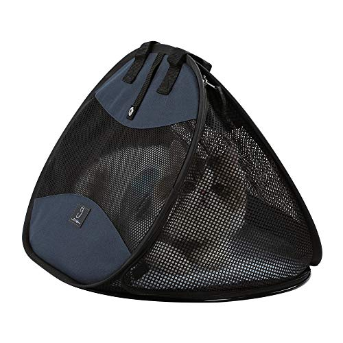 A4Pet Ultra Light, Sturdy and Collapsible Pet Carrier for Cats and Small Animals up to 20 lbs
