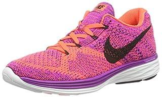Nike Womens Wmns Flyknit Lunar3, VIVID PURPLE/BLACK-HYPER ORANGE-COURT PURPLE, 7.5 M US (B017I894QC)   Amazon price tracker / tracking, Amazon price history charts, Amazon price watches, Amazon price drop alerts