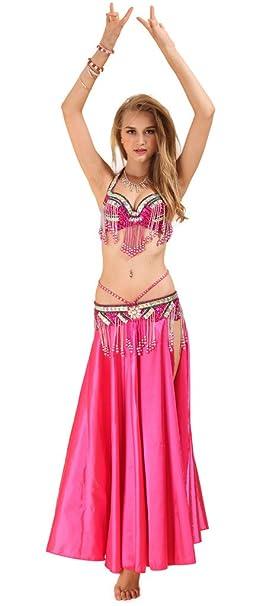 Amazon.com: Guilty Belleza Costume Danza del Vientre, halter ...