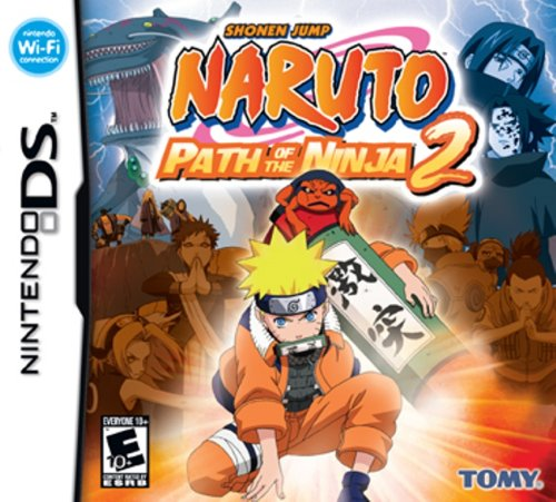 Naruto: Path of the Ninja 2 - Nintendo DS (Nintendo Ds Ninja)