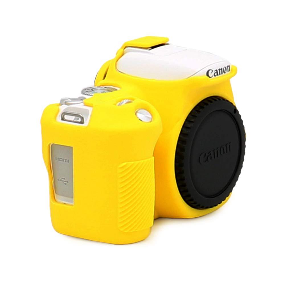 Kinokoo - Carcasa de Silicona para Canon EOS 200D/Rebel SL2: Amazon.es: Electrónica