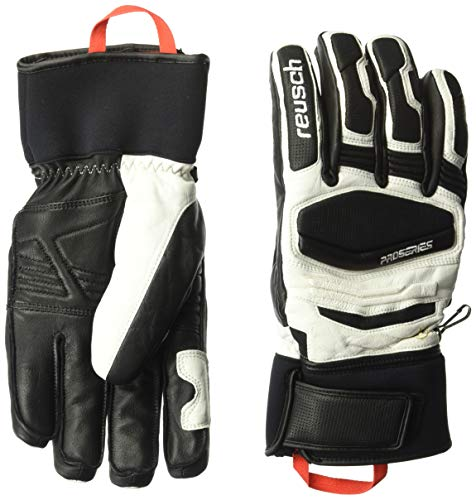 Reusch Snowsports Master Pro Ski Glove, White, Adult Large
