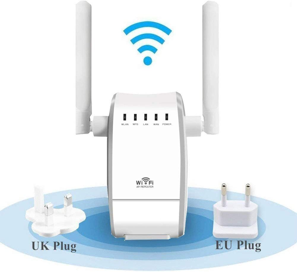 YOUKITTY Wireless Router WiFi Repeater Wireless N Range Extender Mini Ap Router Signal Booster Mini AP Router Network Dual External Ant
