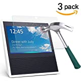 Echo Show Screen Protector,TANTEK Anti-Bubble,HD Ultra Clear,Scratch Resist,Premium Tempered Glass Screen Protector for Echo Show,-[3-Pack]