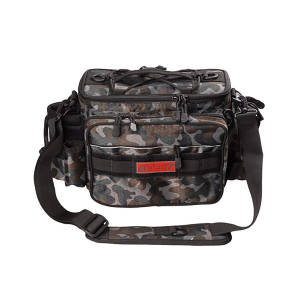 Fishing Bags Waterproof 27.51121Cm Multi-Purpose Fishtackle Backpack Waist Bag B