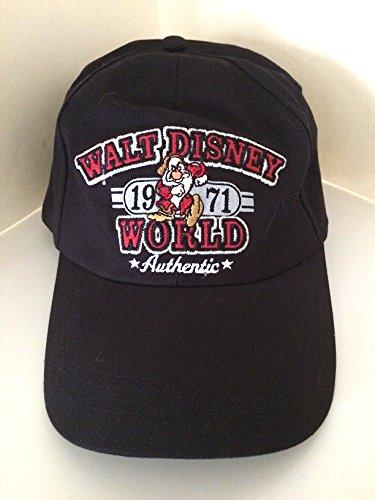 Disney Grumpy Hat (Walt Disney World Grumpy Black Hat Cap NEW)