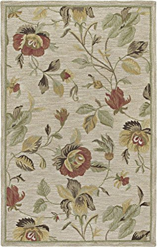Kaleen Rugs Rugs Khazana Collection Savannah-57 Linen Hand Tufted 8