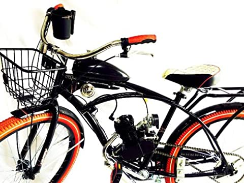 Motorized 66cc Engine & Retro Cruiser Bicycle (Playing It Cool Dvd 2014)