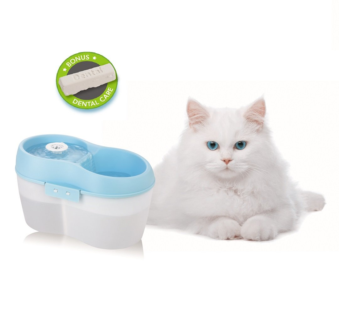 Cat Supplies Pompe à Eau Pour Fontaine Chat à Fleur Automatique Avec Le Câble De 5.9ft Cheapest Price From Our Site