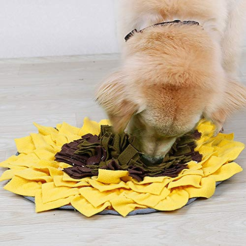 Dog Snuffle Mat Dog Slow Feeding Training Mat Washable for Foraging Skills Stress Release Hogard by ST_GROUP02