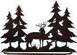 Coast Lamp Iron Deer Scene Towel Bar
