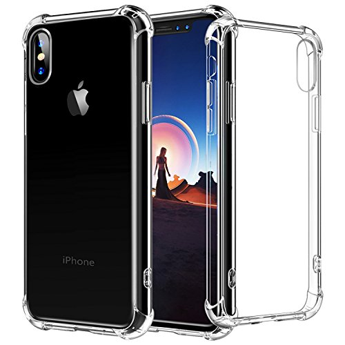 iPhone X Case Crystal Clear [Air Cushion] (Large Image)