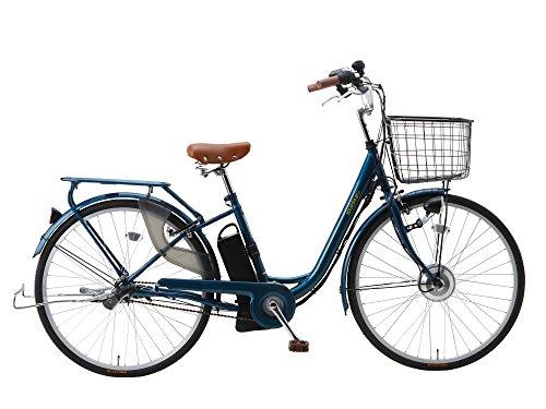 [해외] SUISUI(휙휙) 경쾌차 전동 어시스트 자전거 BM-P10 네이비 3 등LED라이트부 5.8Ah리튬 이온 배터리 탑재 26인치 내장3 단변속 기어 28472-0323