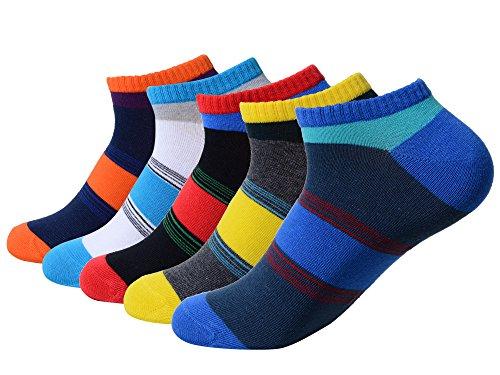 QBSM 5 Pack Men Men s Colorful Cotton Cr