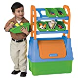 American Plastic Toys Organizer, Colors May Vary