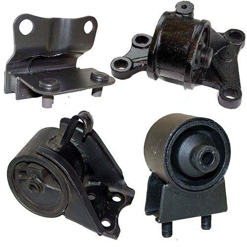 K0086 Fits 1998-2000 MAZDA 626 2.0L ENGINE & TRANS MOUNT KIT for AUTO TRANS 4 PCS : A6480, A6405, A6463, A6440