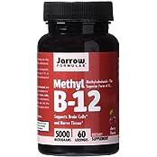 美亚:补充精力/帮助造血/改善皮肤,Jarrow Formulas 维生素B12 60粒.21,约合52元