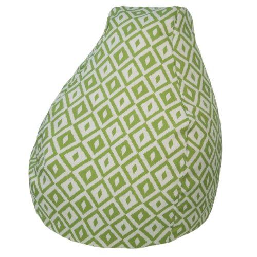 (Gold Medal Bean Bags Outdoor/Indoor Tear Drop Bean Bags, 18-Inch, Aztec Verde)