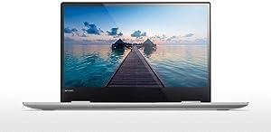 "2018 Lenovo Yoga 720 Flagship Slim Laptop, Silver, 2.9 lbs, 8th Generation Intel i7-8550U Processor, 16GB Memory, 512GB Solid State Disk, 13.3"" Full-HD Multitouch Screen, Back-lit keyboard"