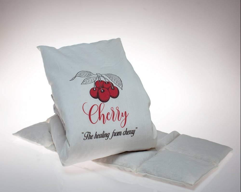 Kirschkernkissen oder Babyg/ürtel von Castejo mit abnehmbaren,waschbaren Bezug 100/% Baumwolle CA9906 Kirsche Kissen zur W/ärme-//K/älte-//Entspannung-//Wellness 65cm