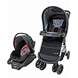 Safety 1st 01281CCZF Amble Quad Travel System, Gentle Lace